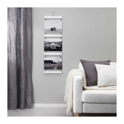 IKEA NACKSTA frame for 3 pictures Easy to hang thanks to the ...