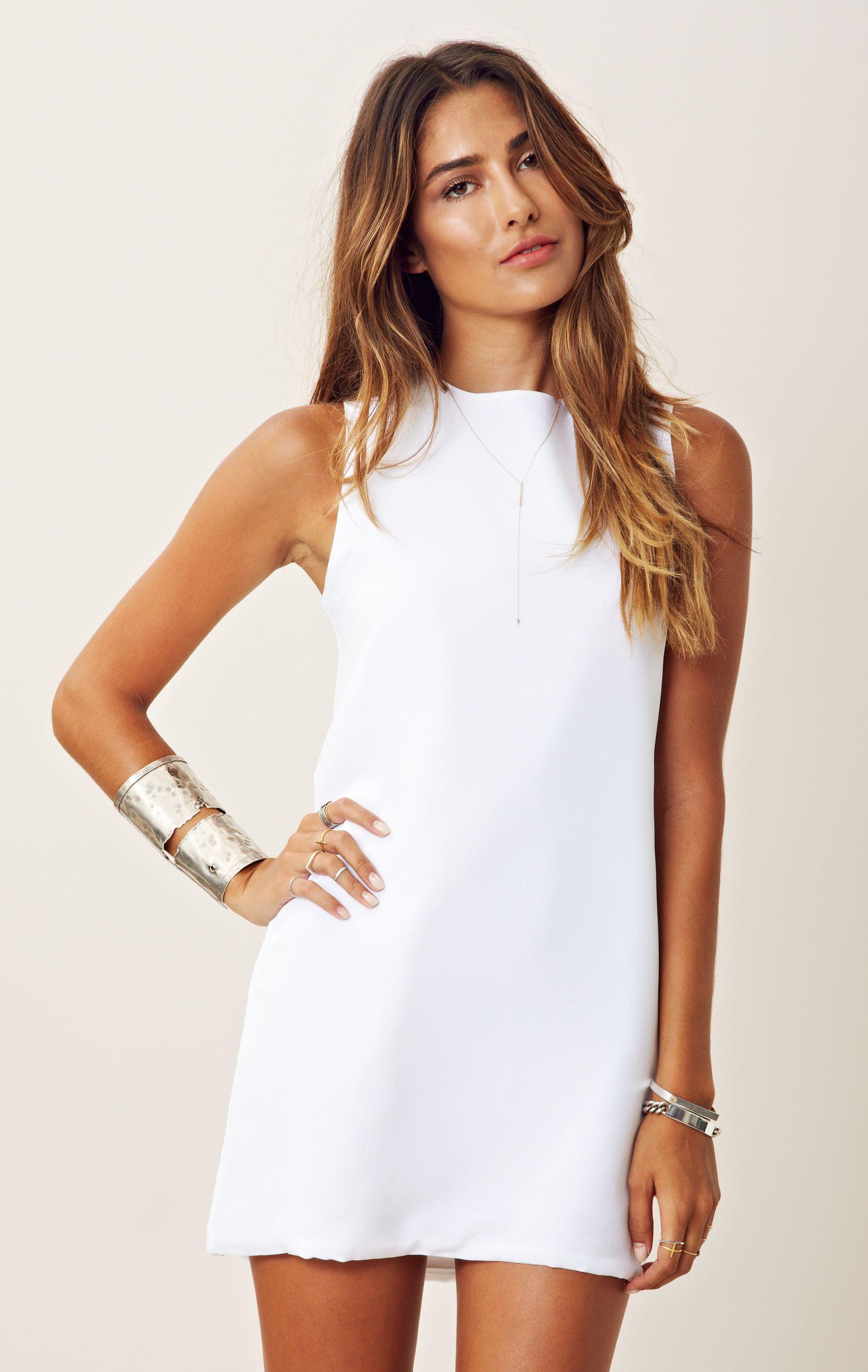 Twiggy Dress Abitini Bianchi e5d2604cb2c