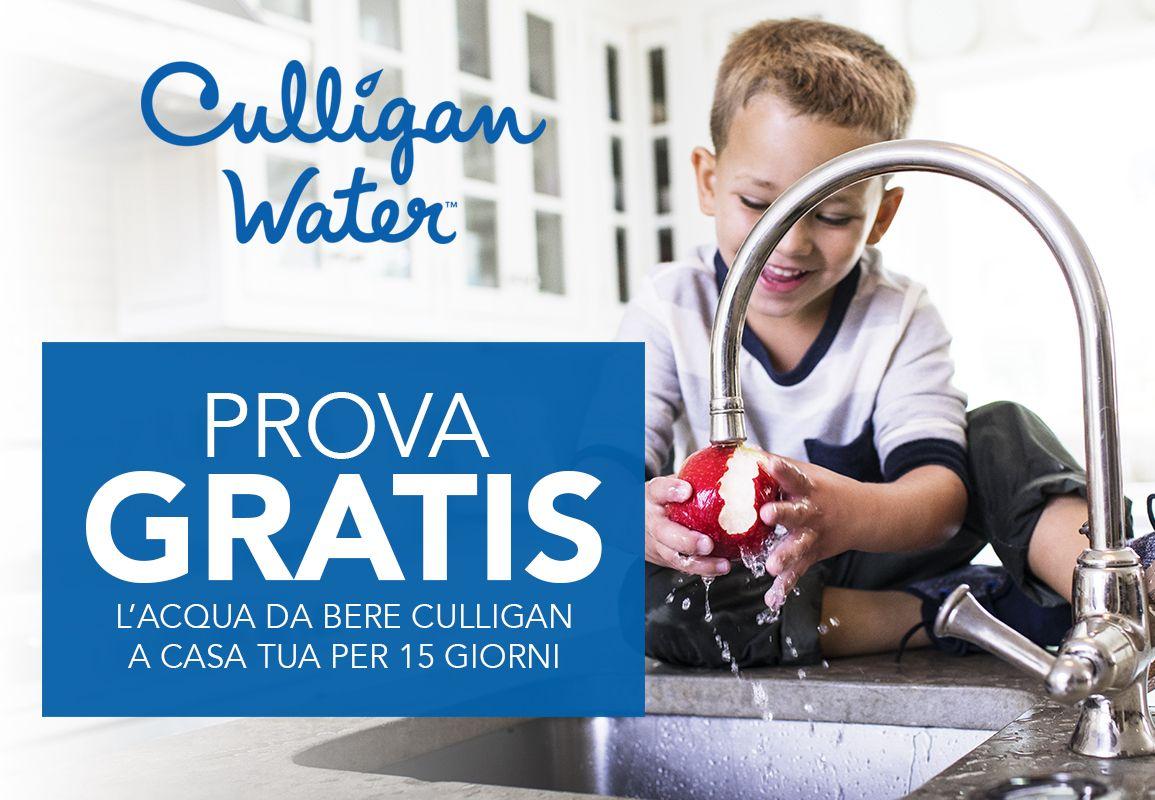 Prova Gratis Il Depuratore D Acqua Culligan Culligan Salute E Benessere Benessere Acqua