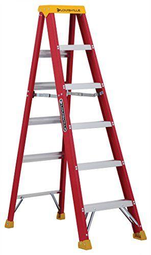 Louisville Ladder L 3016 06 300 Pound Duty Rating Fibergl Https Www Amazon Com Dp B003oyiwxg Ref Cm Sw R Pi Dp U X C1 Bbfb Step Ladders Ladder Fiberglass
