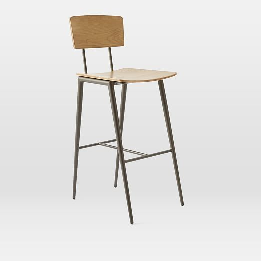 Slope Leg Bar Counter Stool Kitchen Pinterest