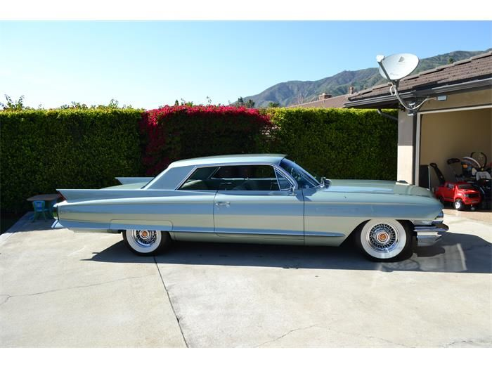 1962 Cadillac Coupe deVille Cadillac Pinterest