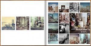 Fotobuch quadratisch Beispiel Layout Fotobuch Layout
