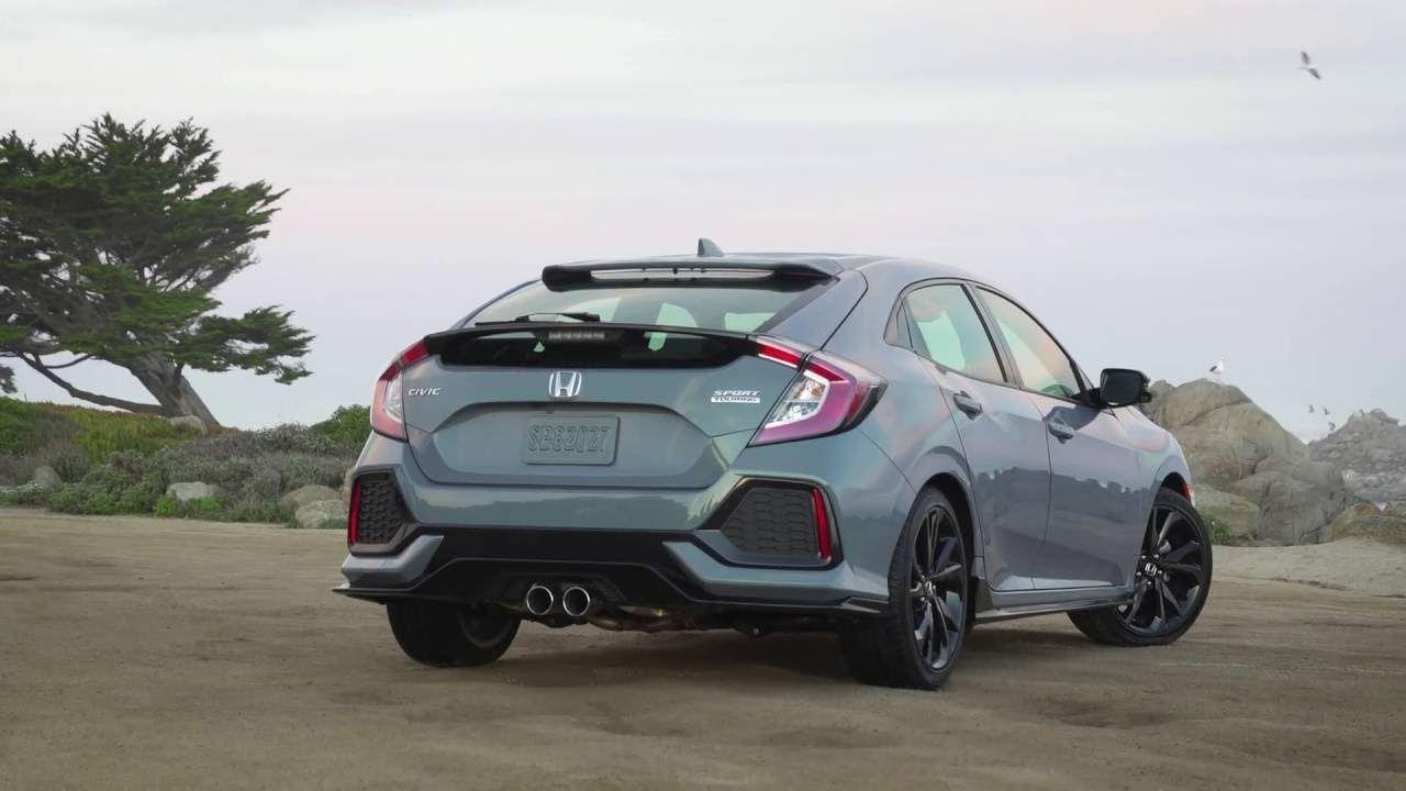 2018 Honda Civic Hatchback Sport 1 5 Turbo Sonic Gray Pearl Honda Civic Hatchback Civic Hatchback Honda Civic