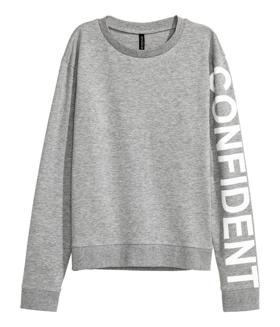 fb33507f12 Sweatshirt | H&M Divided | H&M DIVIDED GIRLS | Fashion, Printed ...