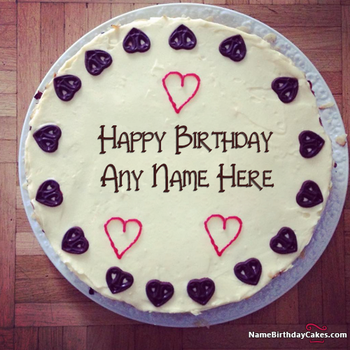 write name on Special Handmade Happy Birthday Cake For Best