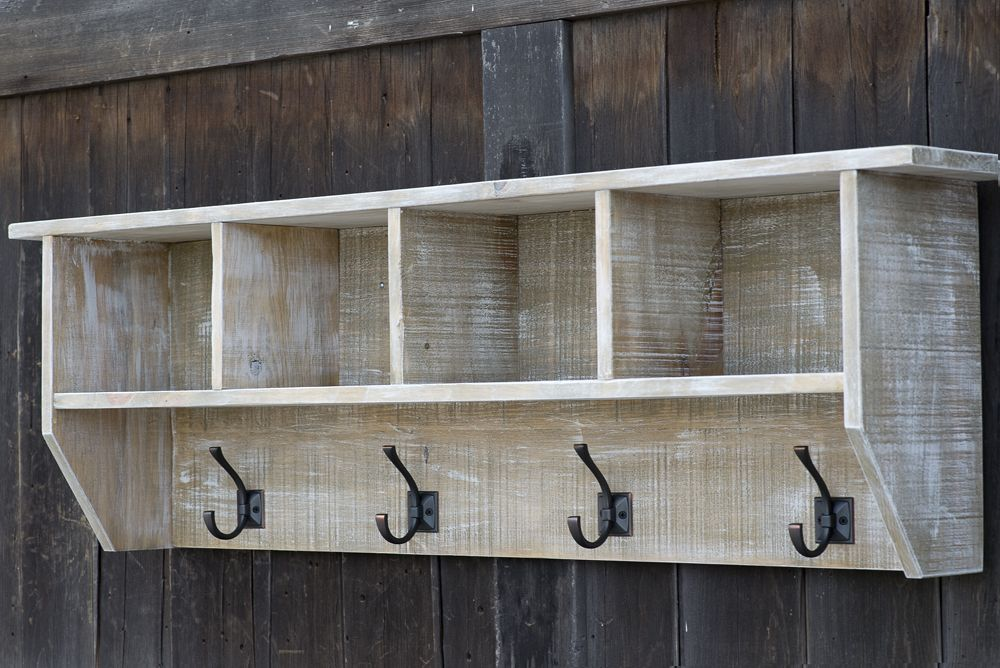 Coat Rack Wall Mount Coat Hooks Coat Rack With Shelf Entryway Organizer Entryway Shelf With Hooks Cubby Shelf Cubbies Wood Coat Rack Rustic Coat Rack Coat Rack Wall Mud Room Storage