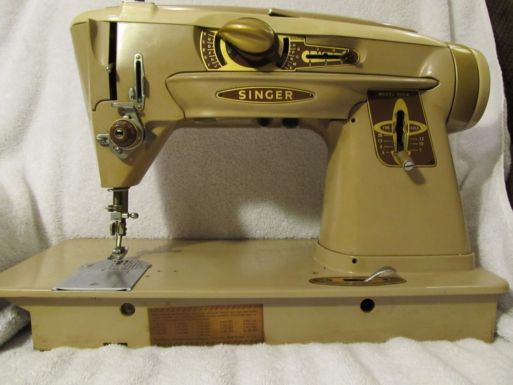 Vintage Singer 40A Rocketeer ZigZag SlantOMatic Sewing Machine As Beauteous Sewing Machine Tune Up Near Me