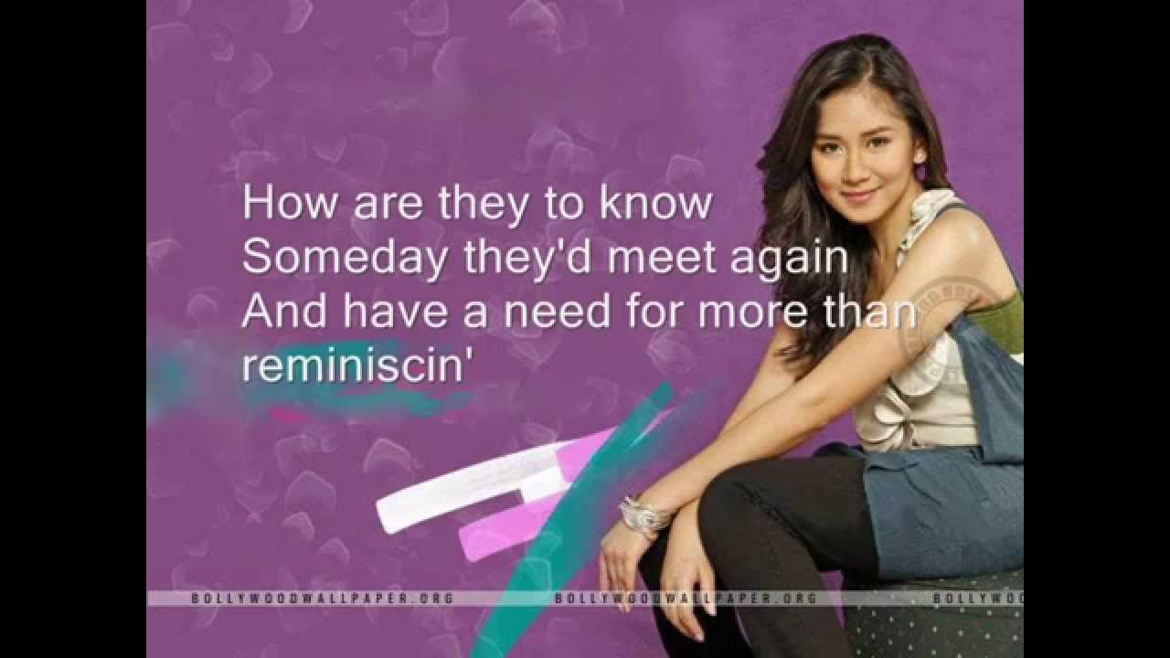 Maybe This Time Sarah Geronimo Lyrics Hd Love Songs Lyrics Music Station