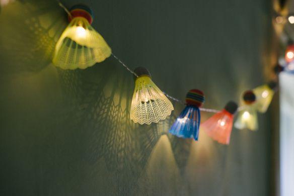 DIY guirlande lumineuse upcylée