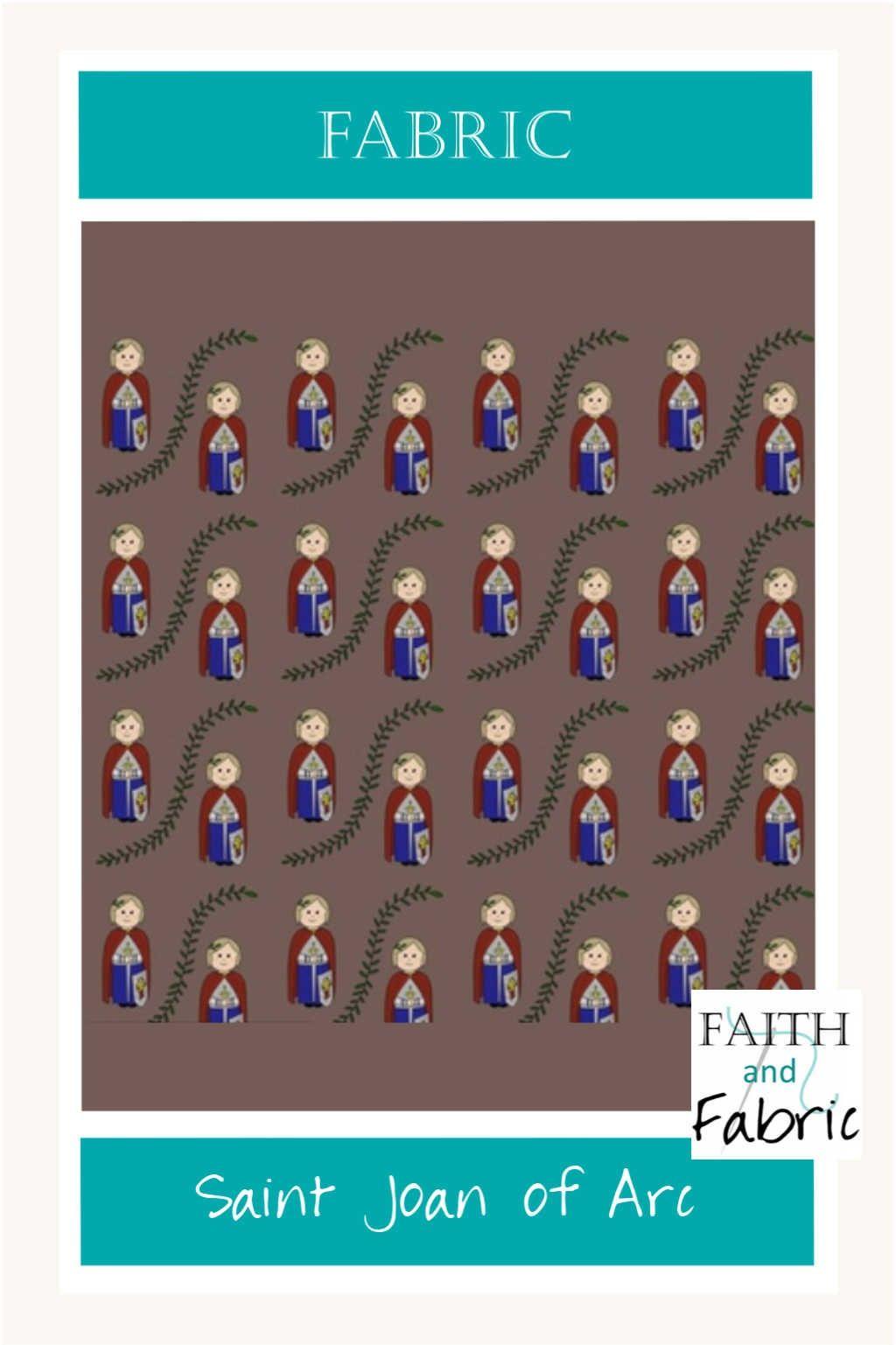 Fabric Saint Joan Of Arc St Joan Of Arc In