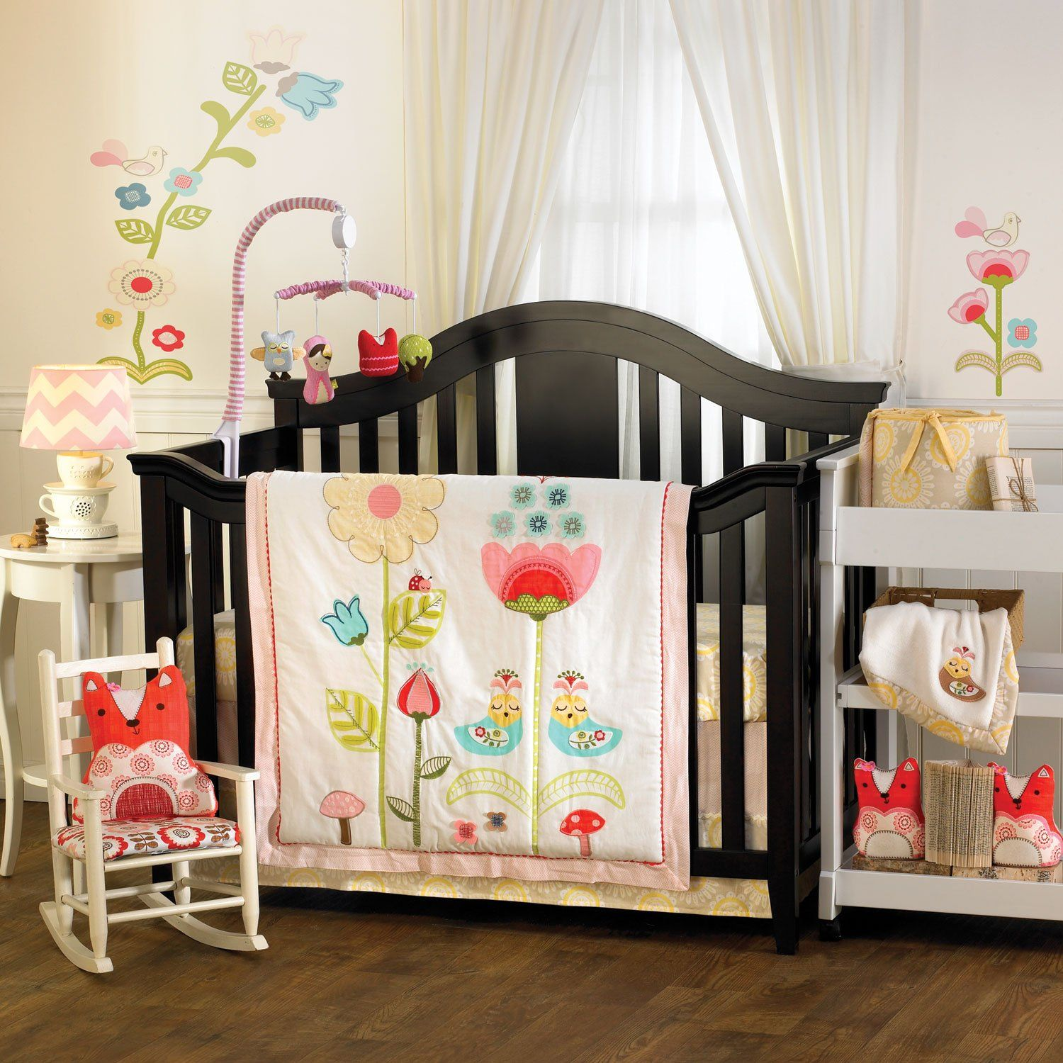 Amazon Com Lolli Living Scarlet Crib Set Baby With Images