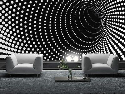 Wallpaper Mural Photo Black Abstract Giant Wall Decor