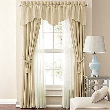 Jcp Home Supreme Antique Satin Pinch Pleat Drapery Panel Pair