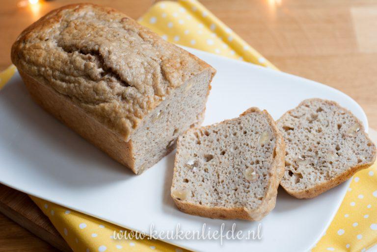 Bananenbrood zonder suiker en boter - KeukenLiefde