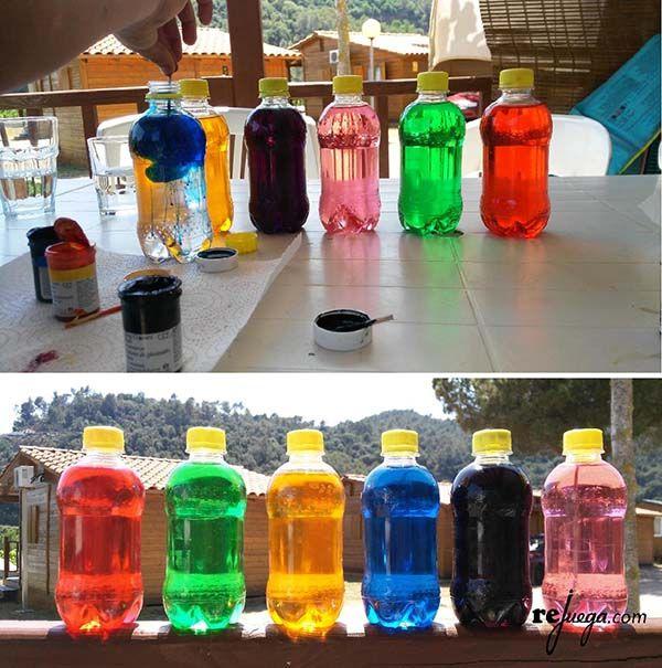 botellas sensoriales para jugar y aprender