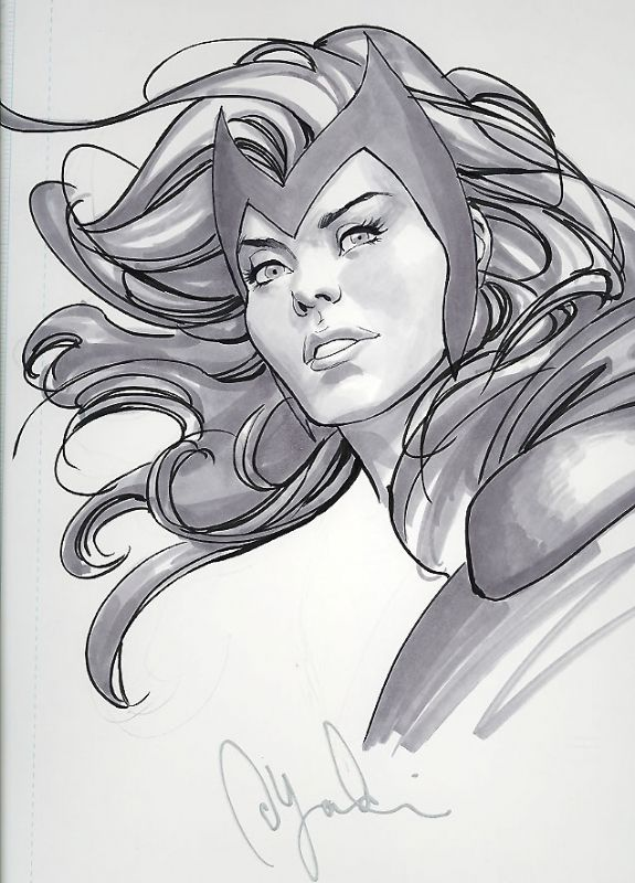 Scarlet Witch Avec Images Dessin Illustration Personnages