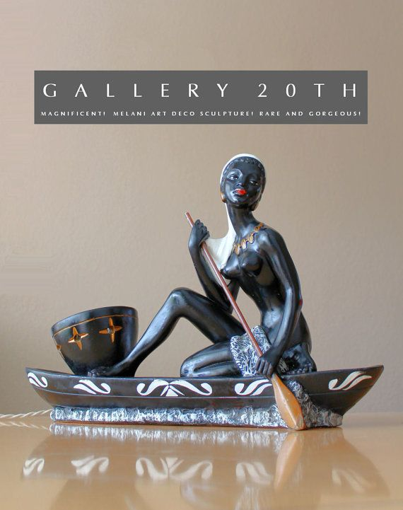 Superb French Art Deco S. MELANI Nude Sculpture Lamp A