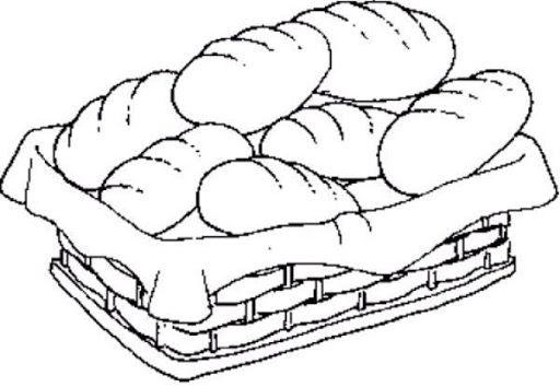 DIBUJOS PARA COLOREAR PAN | Dibujos para colorear | Bible: NT ...