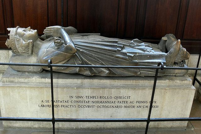 Image result for Rouen France cathedral Duke of Normandy including Rollo