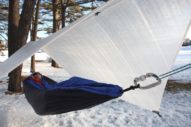 Medium image of hmg hex cuben fiber ultralight hammock tarp