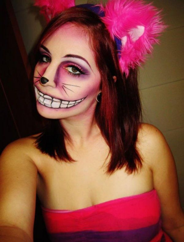 georgeous cheshire cat makeup picture halloween pinterest cheshire cat makeup cheshire cat and makeup