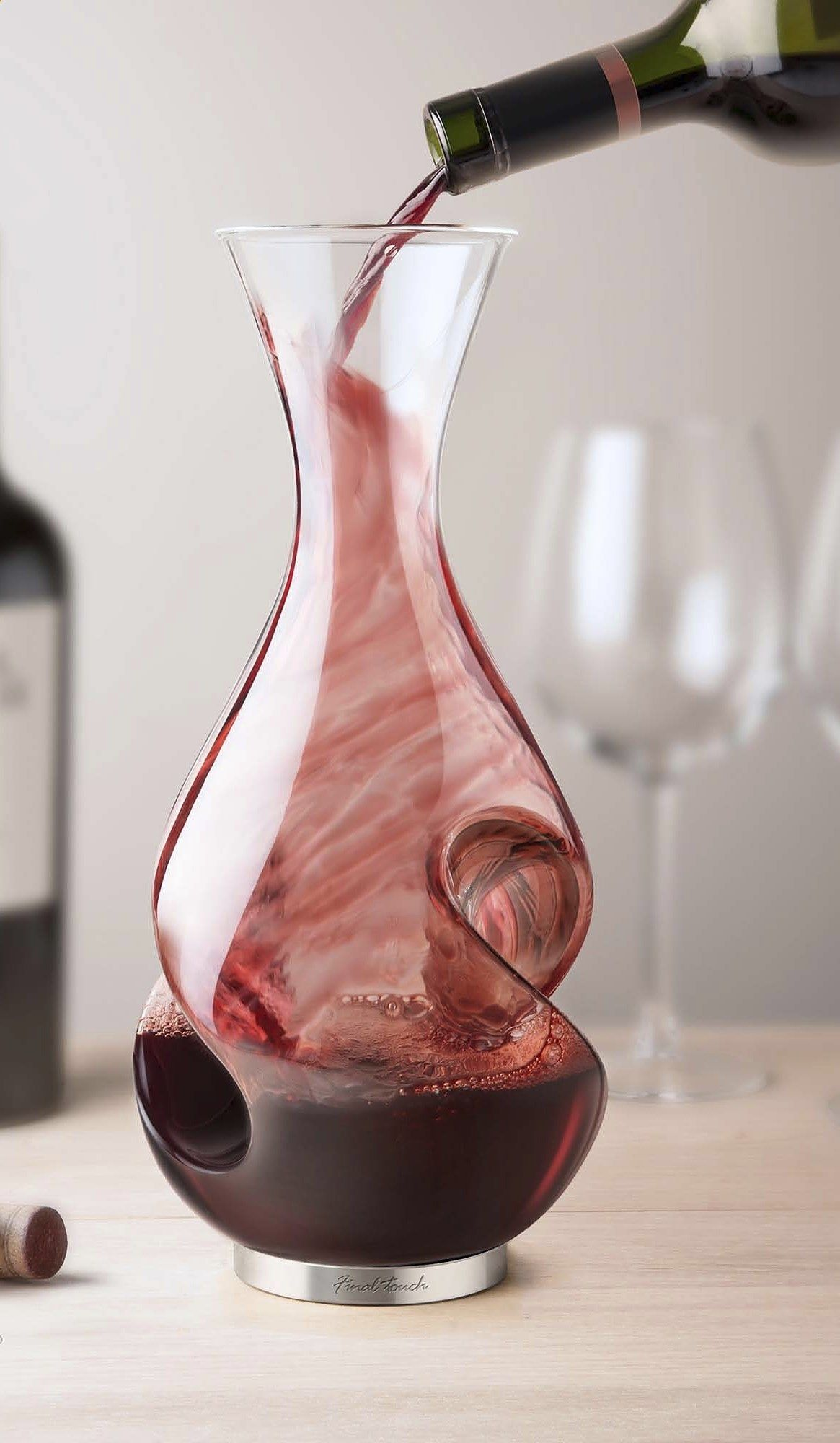 Enhance The Flavor And The Experience Of Drinking Wine With The Lgrand Conundrum Wine Decanter And Aerator Wine Carafe Decanter Wine Aerators