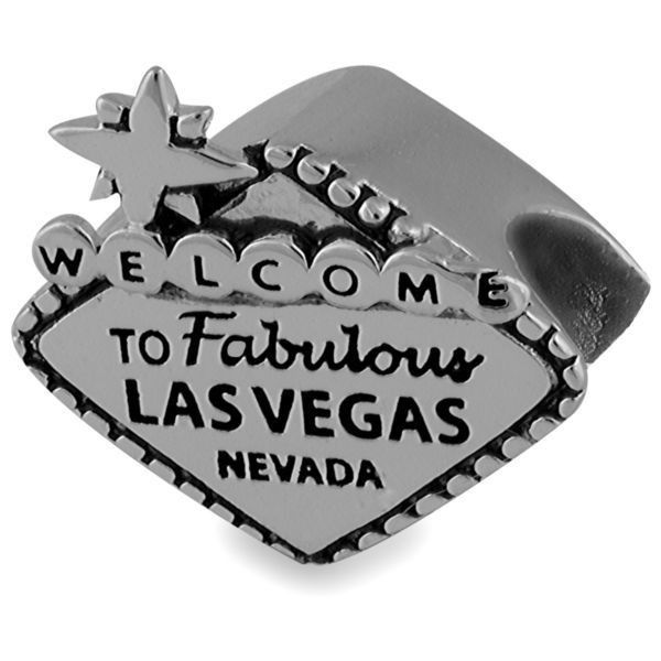 Belk Silverworks Silver Welcome To Fabulous Las Vegas Originality Bead ($22) ❤ liked on Polyvore featuring home, home decor and silver