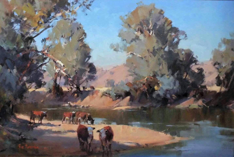 Ross Paterson Landscape Paintings Australian Painting Famous Artists