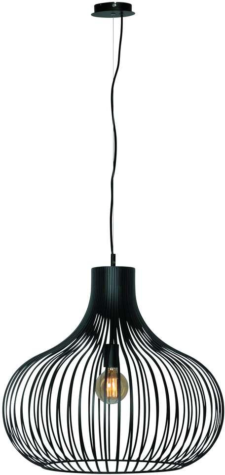 Morgana 60cm Zwart Hanglamp Hanglampen Loods 5 Hanglamp Woonkamerlampen Eettafel Verlichting