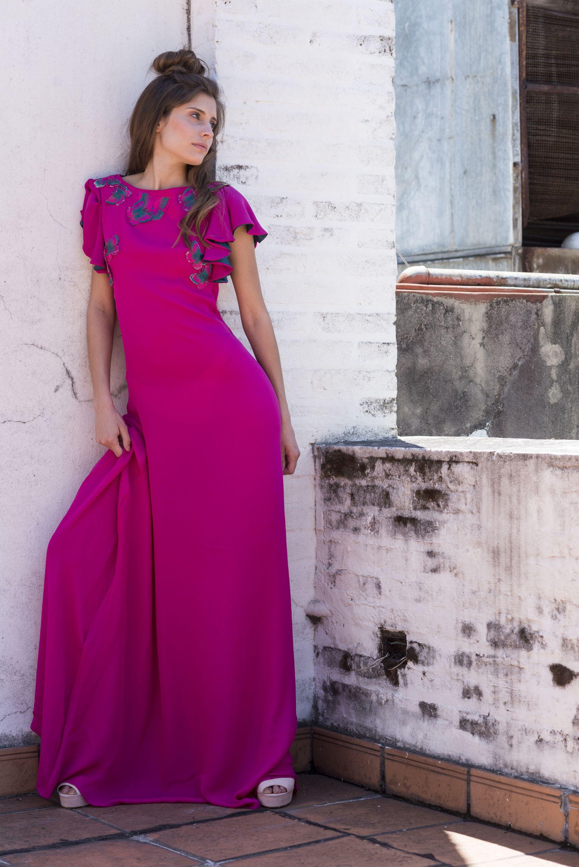 Moderno Vestido De Novia De Crepé Friso - Colección del Vestido de ...