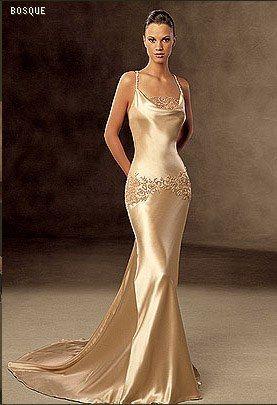 new concept ca05f 864dc Album abiti da sposa color oro | Oro: prezioso come un ...