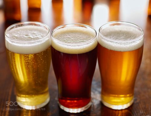 three different types of beer in glass mugs by JoshuaResnick  IFTTT 500px