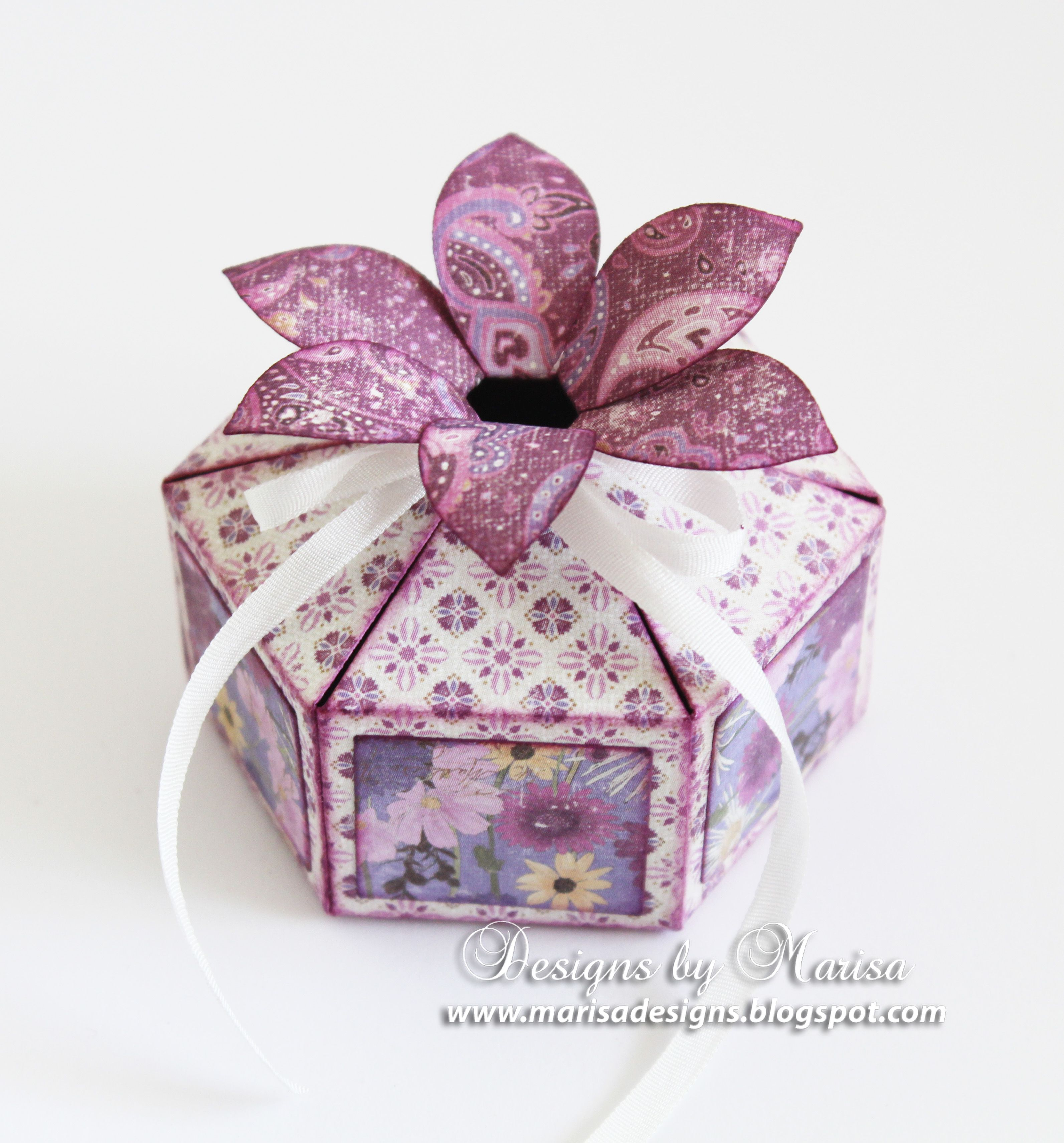 Special Occasion Flower Top Gift Boxes Paper Crafts Pinterest