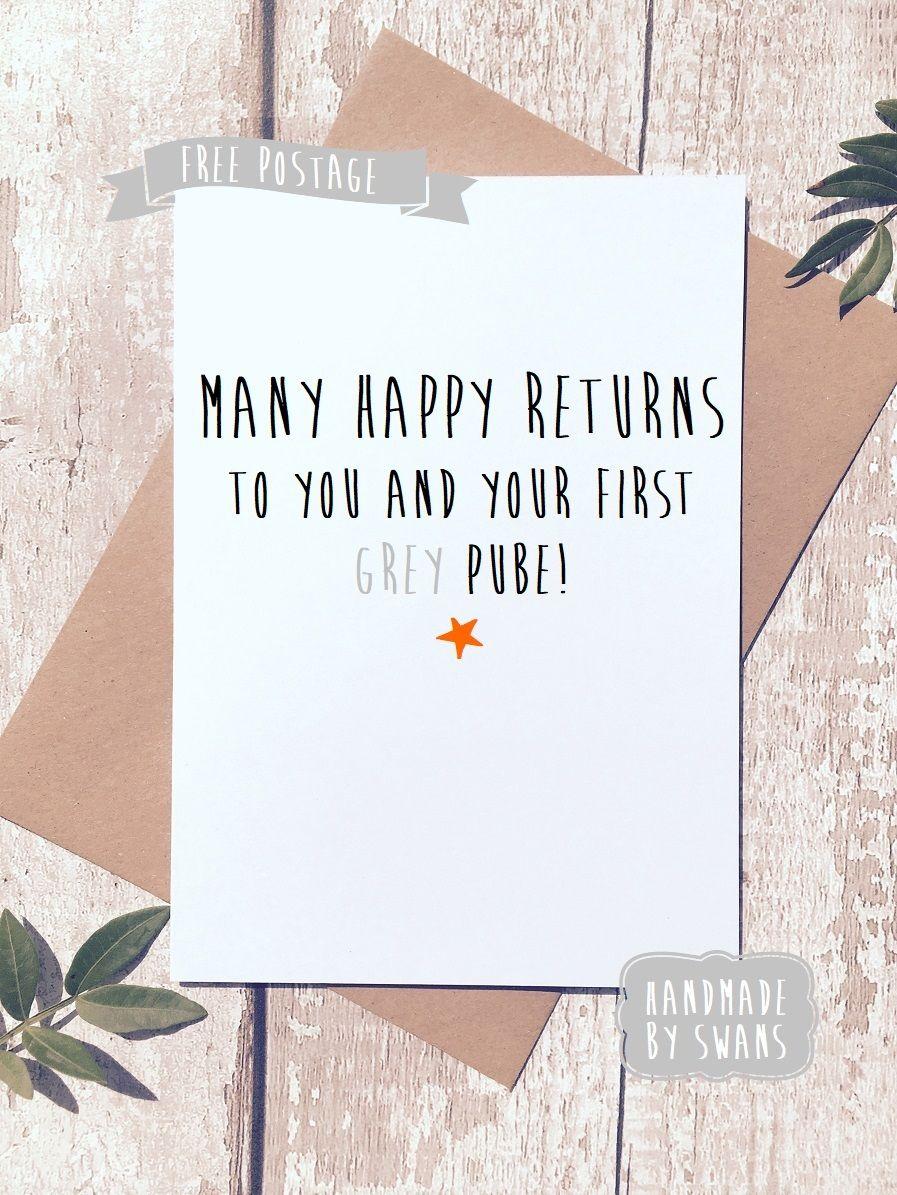 3 95 Gbp Funny Birthday Card Rude Birthday Card Getting Old Card