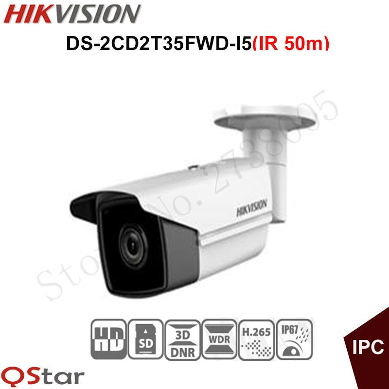 Hikvision english ultra low light security camera ds 2cd2t35fwd i5 hikvision english ultra low light security camera ds 2cd2t35fwd i5 3mp wdr bullet ip camera h mozeypictures Gallery