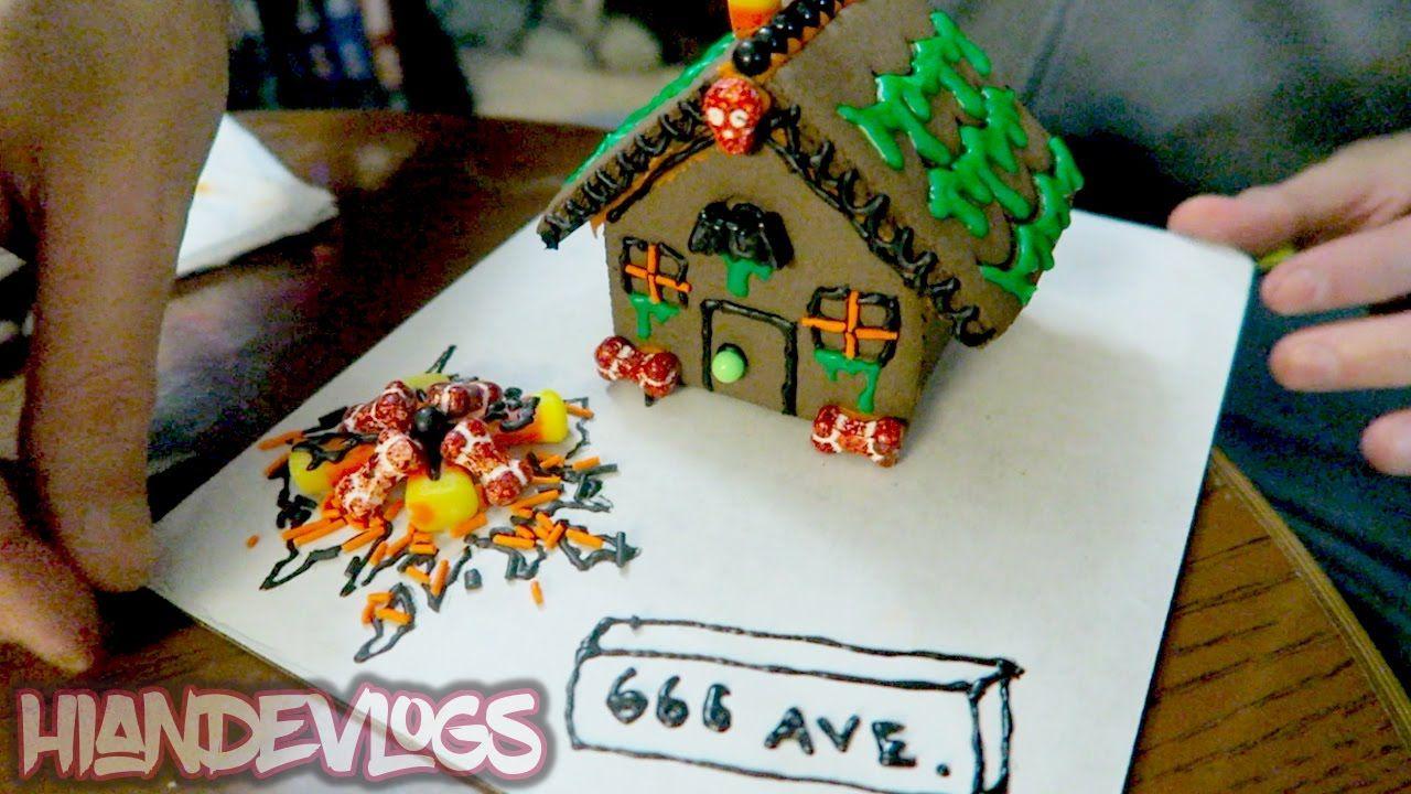 halloween haunted village cookie kit