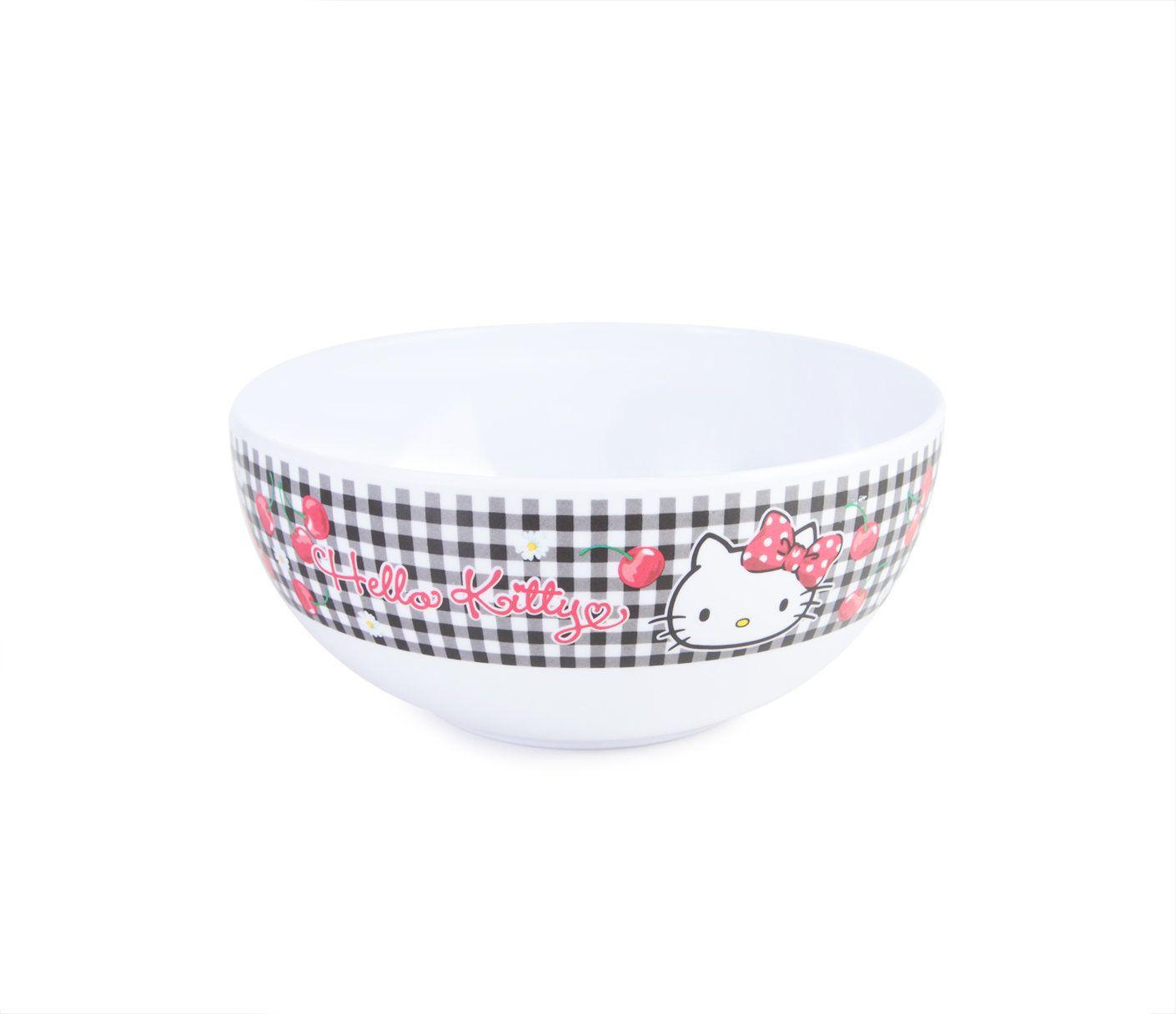 Hello Kitty Cereal Bowl Cherries Hello Kitty Kitchen Hello