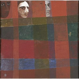 Three Faces By Ben Shahn