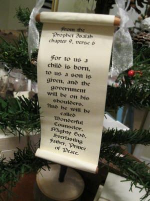 Homemade Christmas Ornaments Bible Verse Scroll Ornaments Christmas Ornaments Homemade Homemade Christmas Christian Ornaments