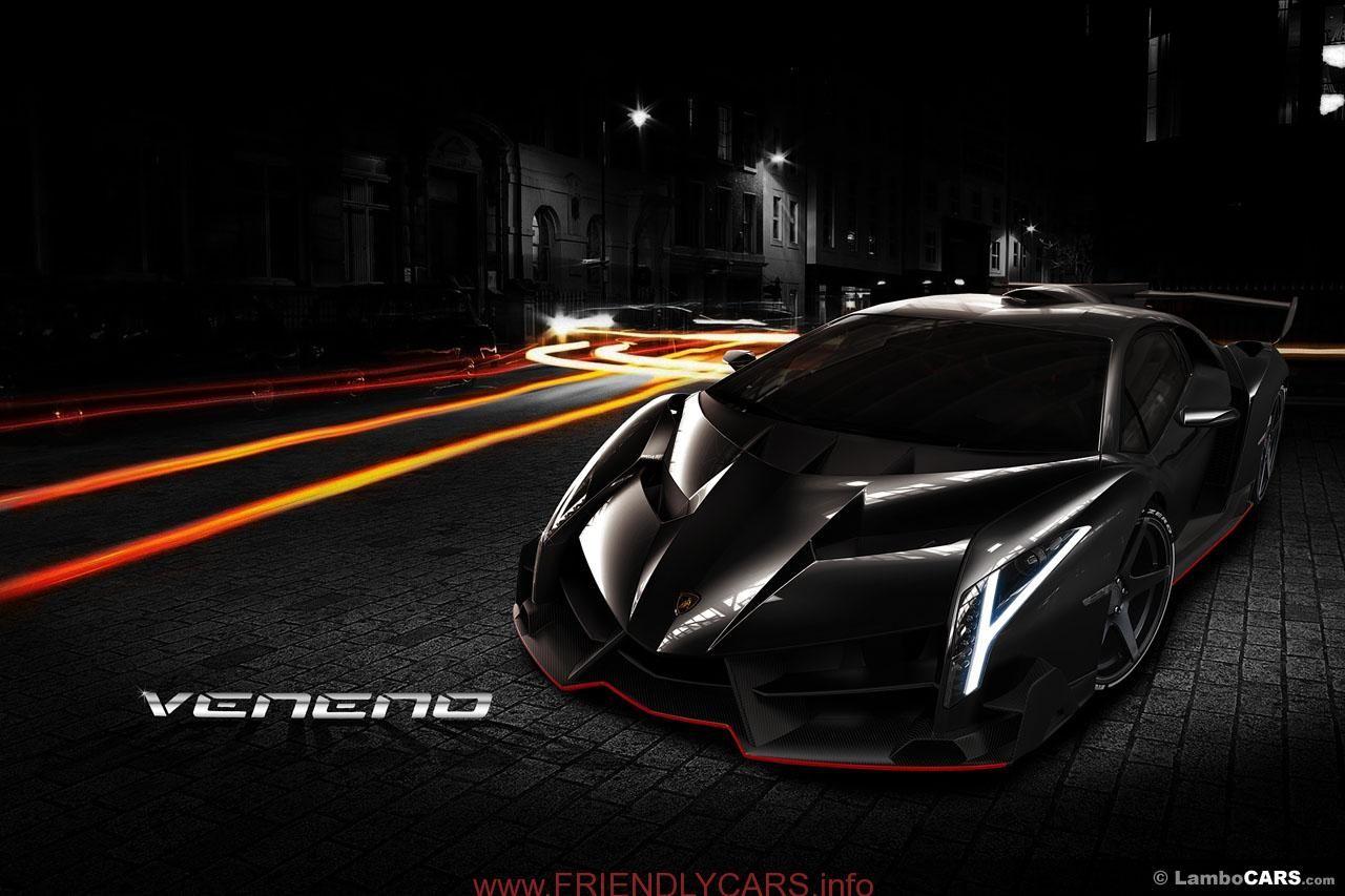 Cool Lamborghini Veneno Roadster Black Image Hd Lamborghini