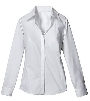 white button up shirt for women | Gommap Blog