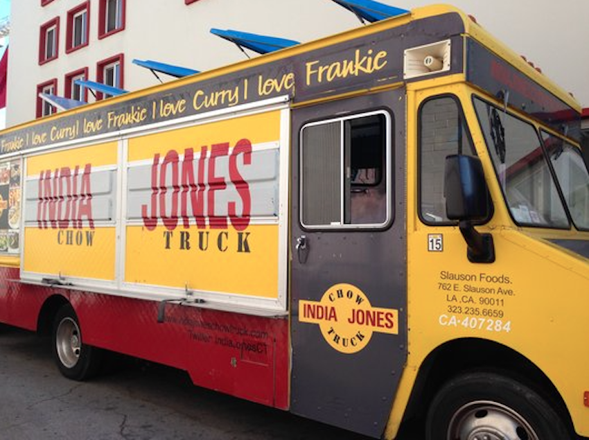 The India Jones Truck With Authentic Restaurants Clustering All The Way Out In Artesia It Can Sometimes Be C Best Food Trucks Food Truck For Sale Food Truck