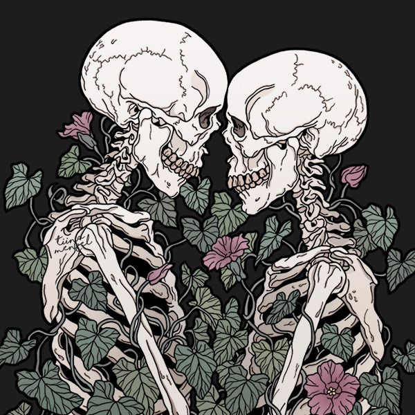 Together forever💘 | Иллюстрации арт, Рисунки ...