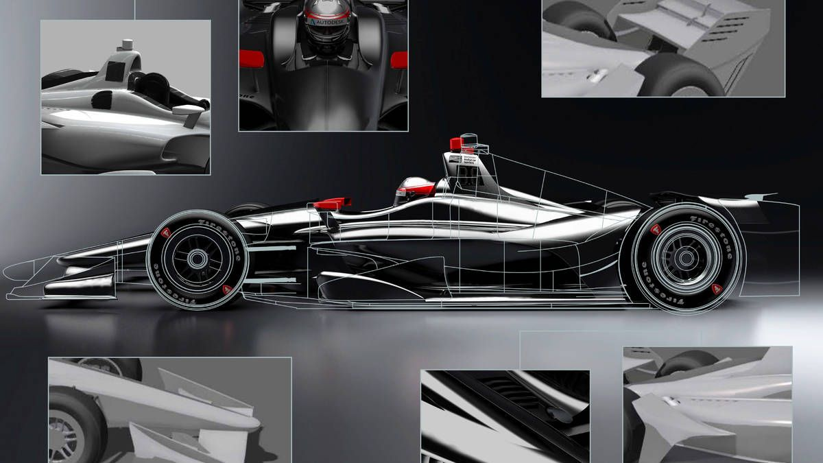 The universal aero kit IndyCar teams will use beginning in 2018