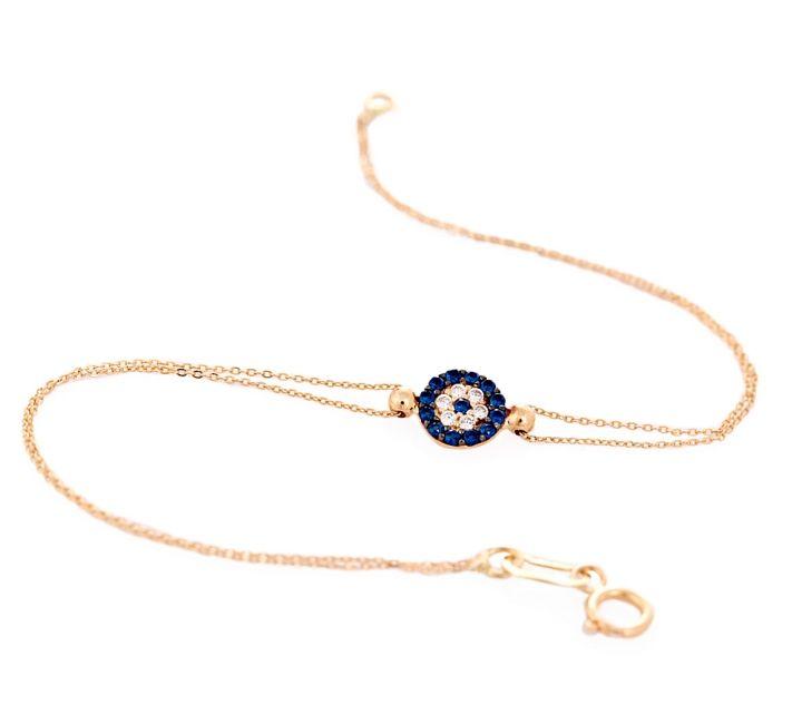 gold mini evil eye bracelet unique evil eye jewelry and charm designs by evil eye