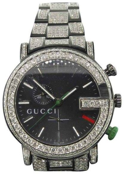 1012bf36453 Gucci Ya101331 Stainless Steel Quartz 44mm Mens Watch