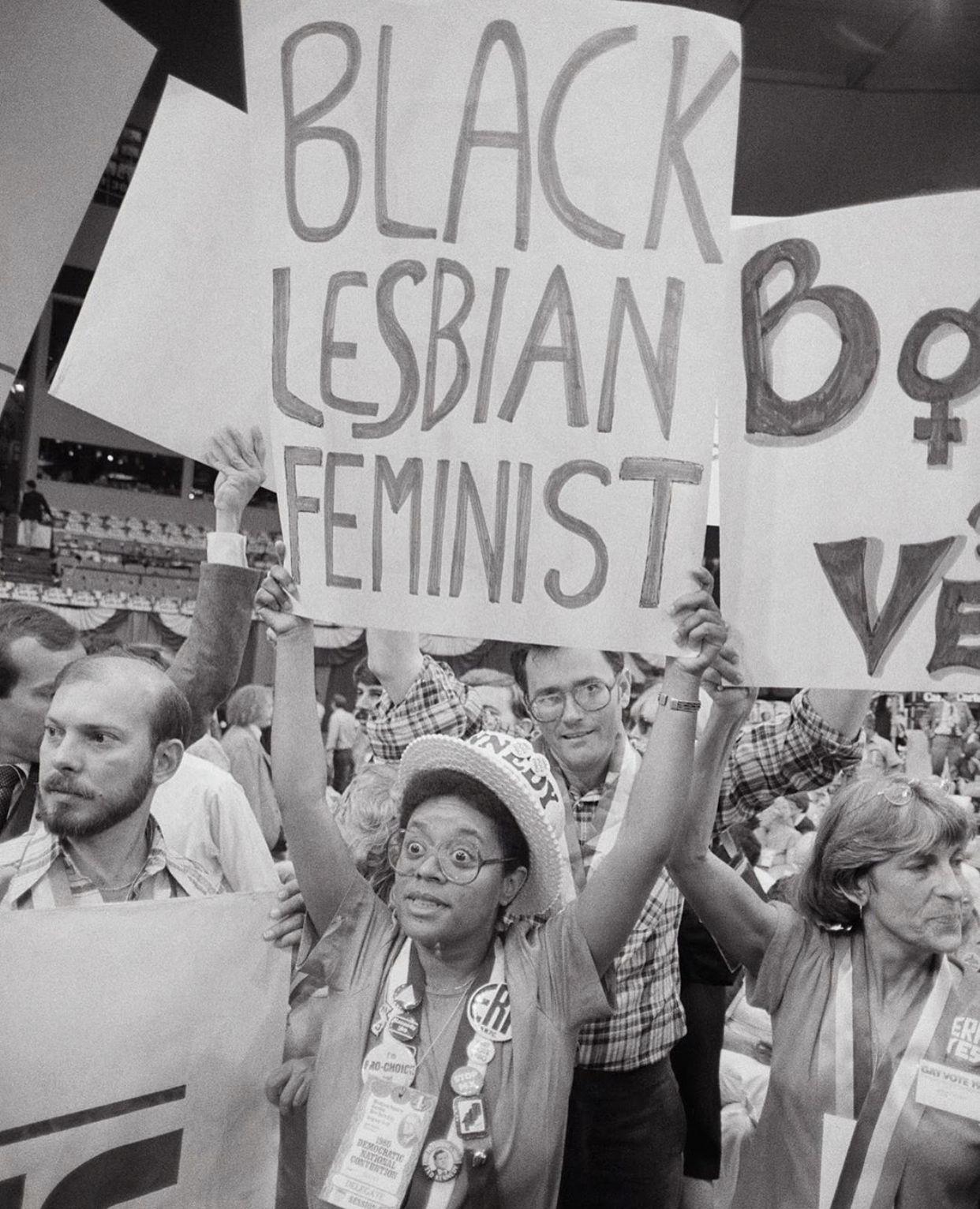 Lgbtq Protest Signs Protest Signs Black Lesbians Vintage Lesbian
