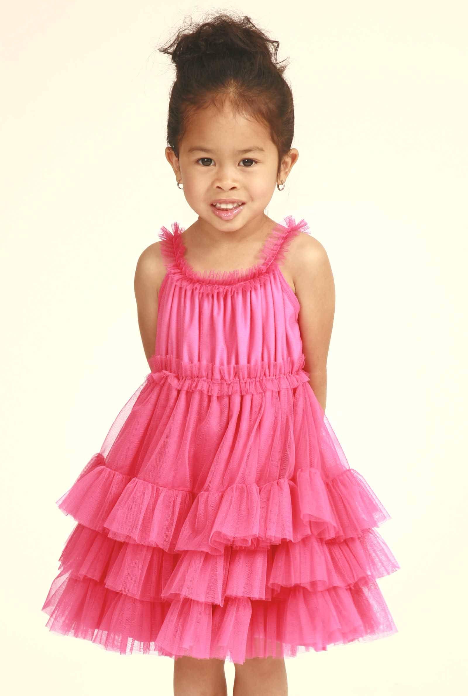 stella industries starlet dress in pink | Little Women Fashion ...