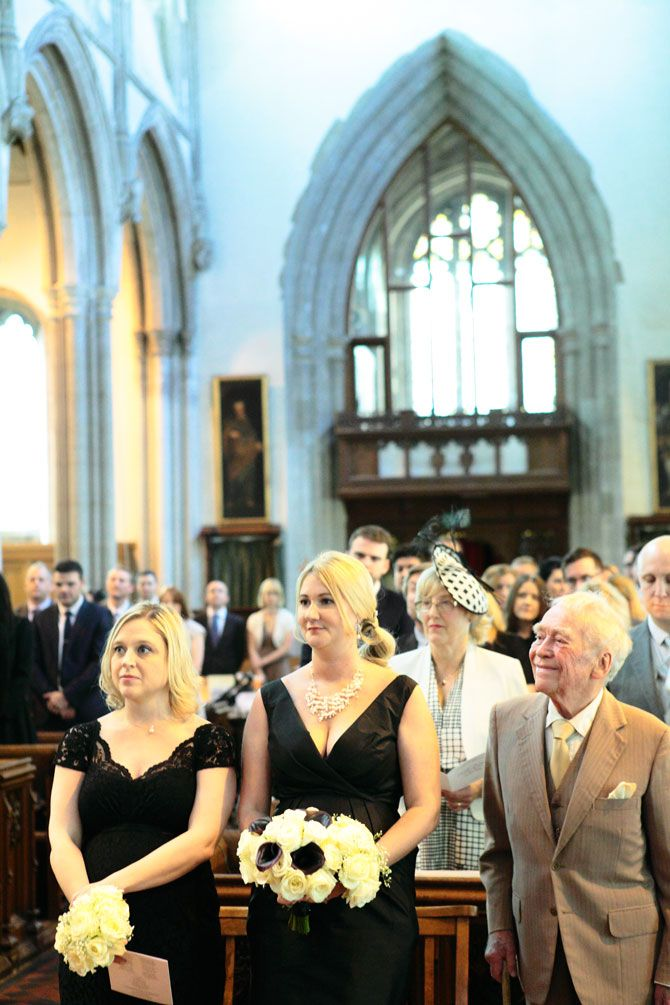 Wedding Ceremony At St Peter And St Paul Church Tring Norman
